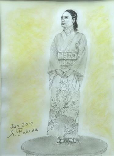 デッサン「福田さん」.JPG