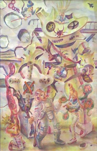 02・アートの翼時・完成「穴のあいた街の穴あき天使・タテナガ」・510.jpg